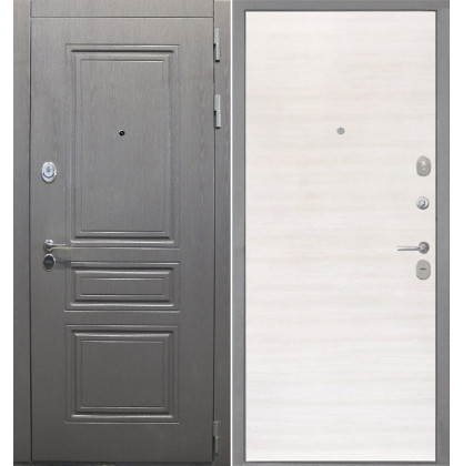 Дверь Интекрон Брайтон (Дуб сильвер поперечный)