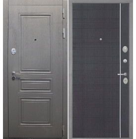 Дверь Интекрон Брайтон L-6 (Венге)