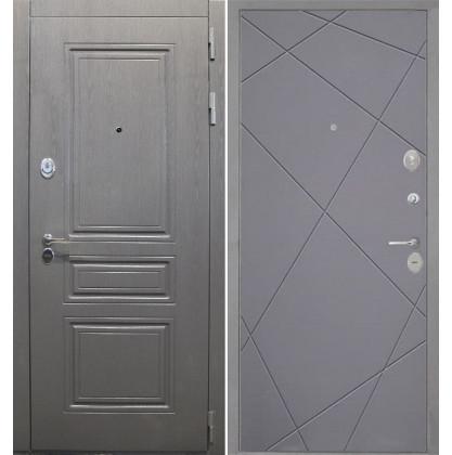 Дверь Интекрон Брайтон Лучи-М (Софт графит)