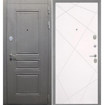 Дверь Интекрон Брайтон Лучи-М (Софт милк)