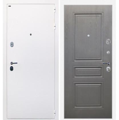 Дверь Интекрон Колизей White (белая) ФЛ-243-м (Графит вуд дуб)