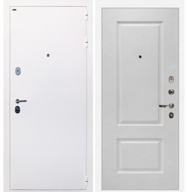 Дверь Интекрон Колизей White (белая) Альба эмаль RAL-9003 (Сигнально белый)