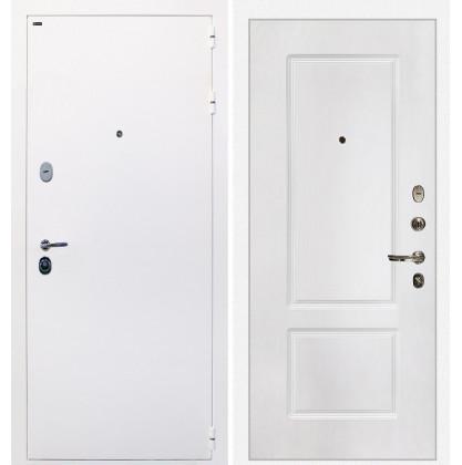 Дверь Интекрон Колизей White (белая) КВ-2 (Белая матовая)