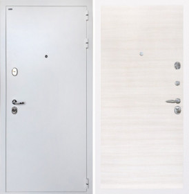 Дверь Интекрон Колизей White / белая (Дуб сильвер)