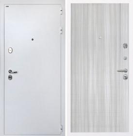 Дверь Интекрон Колизей White (белая) L-5 (Сандал белый)