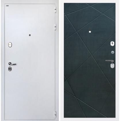 Дверь Интекрон Колизей White (белая) Лучи-М (Венге распил кофе)