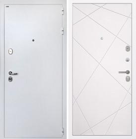 Дверь Интекрон Колизей White (белая) Лучи-М (Софт милк)