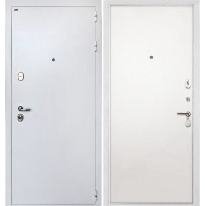 Дверь Интекрон Колизей White / белая (Силк сноу)