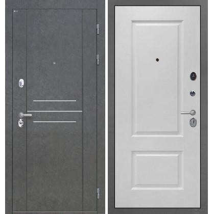 Дверь Интекрон Сенатор Лофт Альба эмаль RAL-9003 (Сигнально белый)