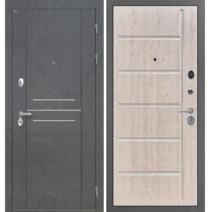Дверь Интекрон Сенатор Лофт ФЛ-102 (Сосна белая)