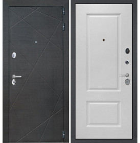 Дверь Интекрон Сенатор Лучи Альба эмаль RAL-9003 (Сигнально белый)