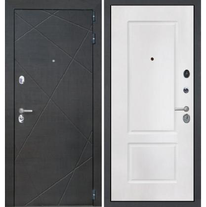 Дверь Интекрон Сенатор Лучи КВ-2 (Белая матовая)