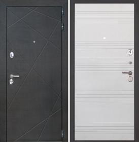 Дверь Интекрон Сенатор Лучи ФЛ-316 (Белый ясень)