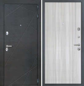 Дверь Интекрон Сенатор Лучи-М В-07 (Сандал белый)