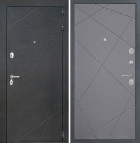 Дверь Интекрон Сенатор Лучи-М (Софт графит)