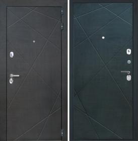 Дверь Интекрон Сенатор Лучи-М (Венге распил кофе)