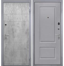 Дверь Интекрон Спарта Грей Альба эмаль RAL-7037 (Пыльно серый)