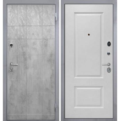 Дверь Интекрон Спарта Грей Альба эмаль RAL-9003 (Сигнально белый)