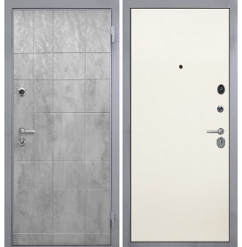 Дверь Интекрон Спарта Грей (Силк жасмин)
