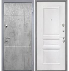 Дверь Интекрон Спарта Грей ФЛ-243 (Белая матовая)
