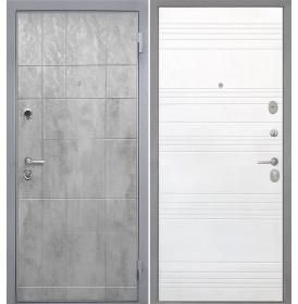 Дверь Интекрон Спарта Грей ФЛ-316 (Белый ясень)