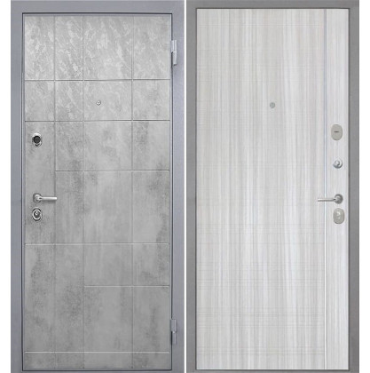 Дверь Интекрон Спарта Грей L-5 (Сандал белый)