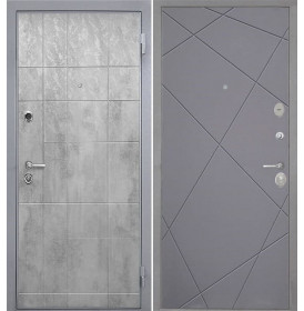 Дверь Интекрон Спарта Грей Лучи-М (Графит софт)