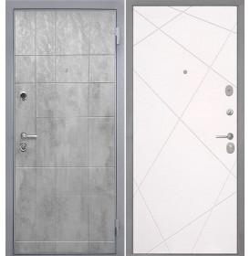 Дверь Интекрон Спарта Грей Лучи-М (Милк софт)
