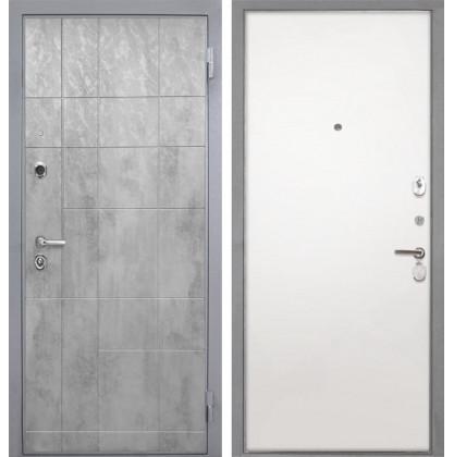 Дверь Интекрон Спарта Грей (Силк сноу)
