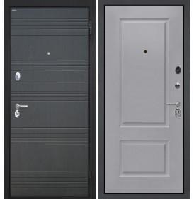 Дверь Интекрон Спарта ФЛ-316 Альба эмаль RAL-7037 (Пыльно серый)