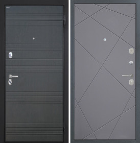 Дверь Интекрон Спарта ФЛ-316 Лучи-М (Софт графит)