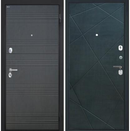 Дверь Интекрон Спарта ФЛ-316 Лучи-М (Венге распил кофе)