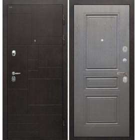 Дверь Интекрон Веста ФЛ-243 (Графит вуд дуб)