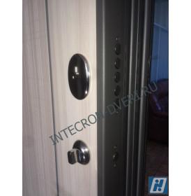Дверь Интекрон Неаполь L-5 (Сандал белый)