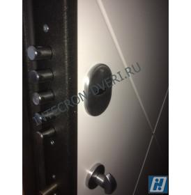 Дверь Интекрон Греция Лучи-М (Софт милк)