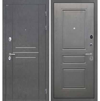 Дверь Интекрон Сенатор Лофт ФЛ-243 (Графит вуд дуб)