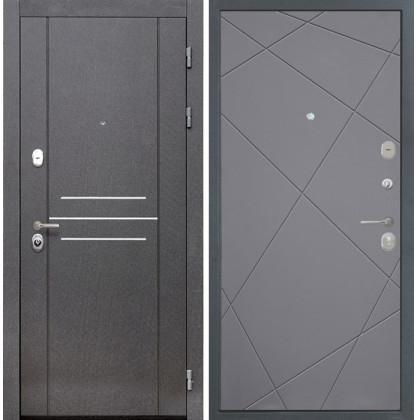 Дверь Интекрон Сенатор Лофт Лучи-М (Софт графит)