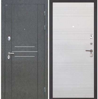 Дверь Интекрон Сенатор Лофт ФЛ-316 (Белый ясень)