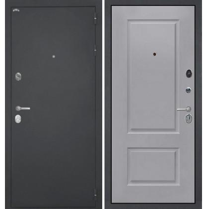 Дверь Интекрон Колизей Альба эмаль RAL-7037 (Пыльно серый)