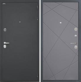 Дверь Интекрон Колизей Лучи М (Софт графит)