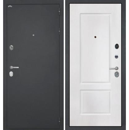Дверь Интекрон Греция КВ-2 (Белая матовая)