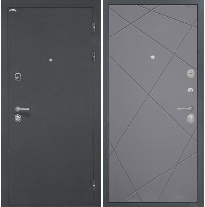 Дверь Интекрон Греция Лучи-М (Софт графит)
