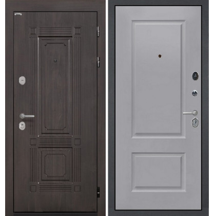 Дверь Интекрон Италия Альба эмаль RAL-7037 (Пыльно серый)