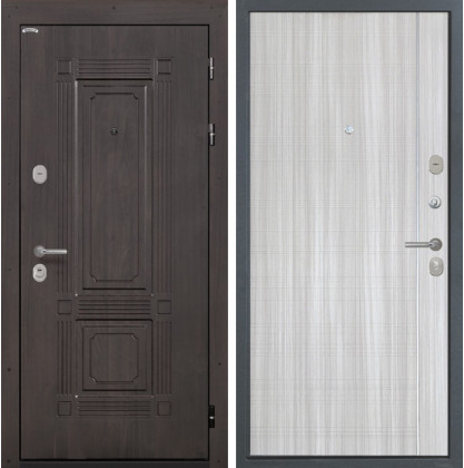 Дверь Интекрон Италия L-5 (Сандал белый)