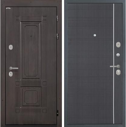 Дверь Интекрон Италия L-6 (Венге)
