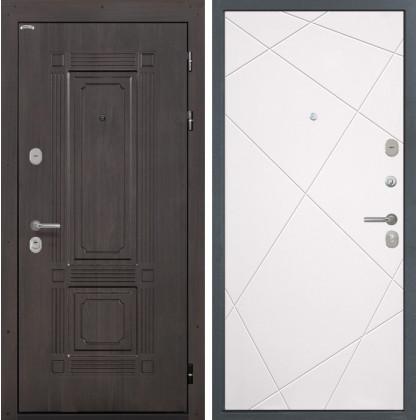 Дверь Интекрон Италия Лучи-М (Софт милк)