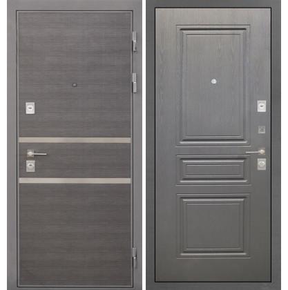 Дверь Интекрон Неаполь ФЛ-243 (Графит вуд дуб)
