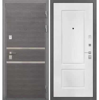 Дверь Интекрон Неаполь КВ-2 (Белая матовая)