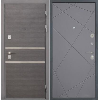 Дверь Интекрон Неаполь Лучи-М (Софт графит)