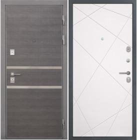 Дверь Интекрон Неаполь Лучи-М (Софт милк)